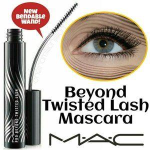 NIB MAC mascara PRO BEYOND TWISTED LASH Black